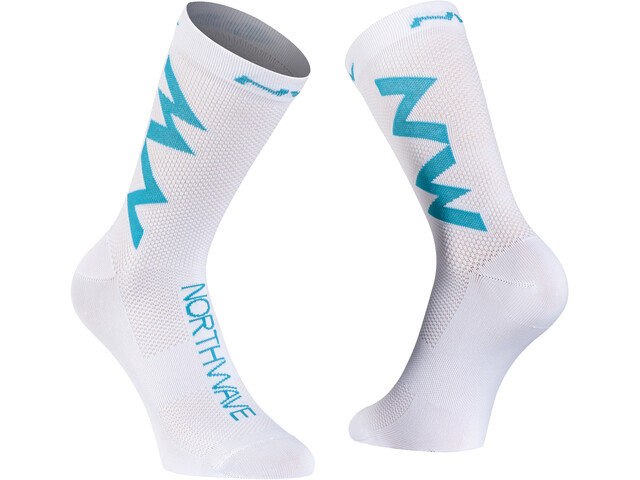 Northwave Extreme Air Chaussettes, white/blue